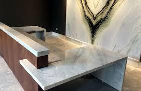Granite Reception Desk Granite Quartz Solid Surface Countertops Ormond Florida