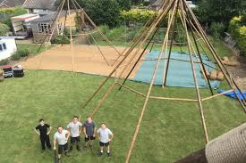 the timber yard timber and canvas tipi hire