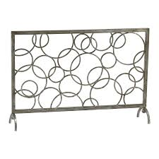 ideas u0026 tips akiva 3 panel metal fireplace screens for fireplace