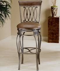 Bar Stool With Cushion Traditional Bar Stools For The Kitchen