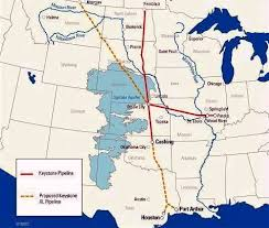 keystone xl pipeline map insideclimate transcanada says keystone xl pipeline route