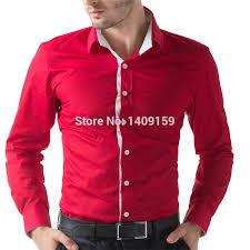 online get cheap men u0026 39 s red and black dress shirt aliexpress