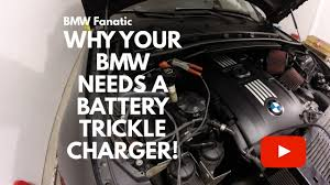 how to charge a bmw car battery why your bmw needs a battery trickle charger