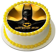 batman cake toppers batman yellow edible cake and cupcake toppers edible prints on