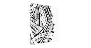 modern tattoo designs wrapped canvas prints zazzle