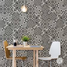 kitchen stencils designs tile stencils for walls floors and diy kitchen decor royal