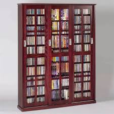 dvd cabinets with glass doors have too many dvds try these clever dvd storage ideas for solutions