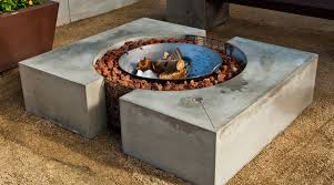 How To Make A Concrete Table by How To Make A Concrete Fire Pit Cheng Concrete Exchange