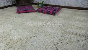 aliexpress com buy rustic straw rug braid two color mat corn