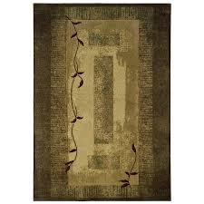 Green Area Rug Shop Allen Roth Holder Green Indoor Nature Area Rug Common 8 X