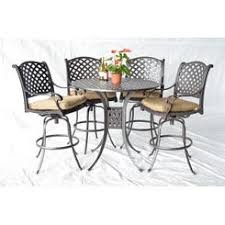 Solid Cast Aluminum Patio Furniture by Outdoor Bars Patio Bars Sears