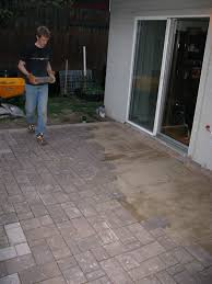 project exposed aggregate pavers home depot for minimalist home
