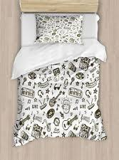 Guitar Duvet Cover Guitar Bedding Ebay