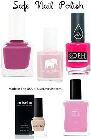 six of the best and least toxic nail polish options made in the