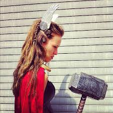 hair styles for viking ladyd the most badass lady thor costume ideas viking braids amazing