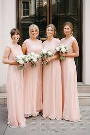 pink bridesmaid dresses modest a line pink chiffon bridesmaid dress wedding party