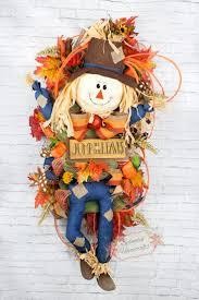 Halloween Wreaths Door 35 Best Fall Halloween Wreaths Images On Pinterest Halloween