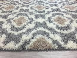 amazon com cozy moroccan trellis indoor shag area rug 9 u0027 x 12