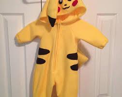 pikachu costume pikachu costume etsy