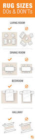 How Big Should Rug Be In Living Room Best 25 Area Rug Placement Ideas On Pinterest Rug Placement