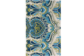 Aqua Outdoor Rug 60x90 Outdoor Rug Surat Aqua Green Living Spaces