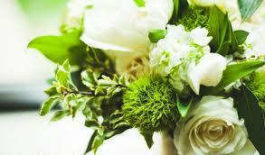 fleurs blanches mariage fleurs mariage 55 idées déco de table et bouquet de mariée