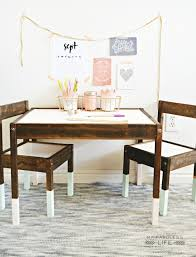 best 25 kids table ideas best 25 kids table and chairs ideas on wood chic