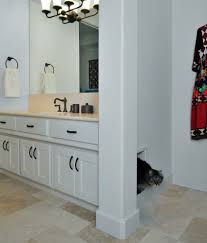 hidden bath bathroom contemporary with glass mosaics contemporary