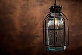 Glass Jar Pendant Light Rustic Vintage Lamp With Vintage Corporation Mason Jar Id Lights
