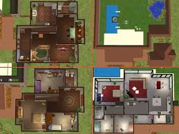 2 house blueprints sims 4 house blueprints modern house