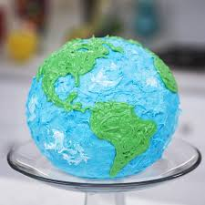 made a layered earth cake on nerdy nummies today rosanna