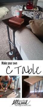 c sofa table best 25 c table ideas on industrial side table