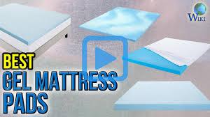 top 10 gel mattress pads of 2017 video review