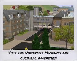 Home Design Career Sims 3 The Sims 3 Homeworld University A Custom University World For