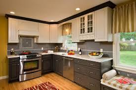 multi color kitchen cabinets multi colored kitchen american traditional kitchen