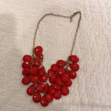 red necklace jewelry images Jewelry red necklace poshmark jpg