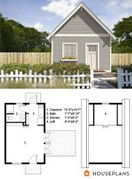 tiny traditional house plan from freegreen 500sft 1bedroom 1