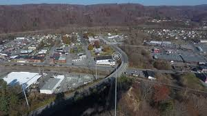 christmas tree hill in richlands virginia shot by a drone youtube