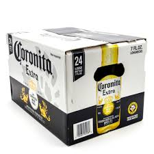 Coors Light 24 Pack Corona Extra Coronita Imported Beer 7oz Bottle 24 Pack