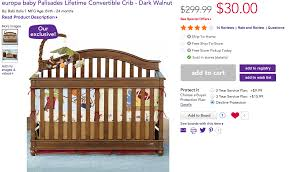 Baby Cache Lifetime Convertible Crib by Babies R Us Europa Crib Baby Crib Design Inspiration