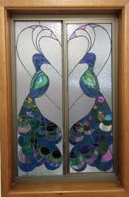 stained glass door patterns 117 best stained glass peacock images on pinterest stained glass