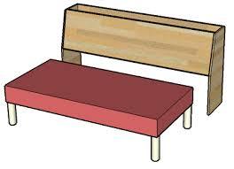 faire un canapé avec un lit canapé lit travail du bois