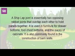 Shiplap Joint What Is A Shiplap Joint Youtube