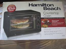 12 Inch Toaster Oven Hamilton Beach 31101 Large Toaster Convection Rotisserie Oven Bake
