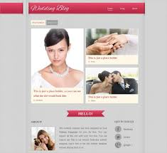 free wedding website 11 free wedding website themes templates design trends