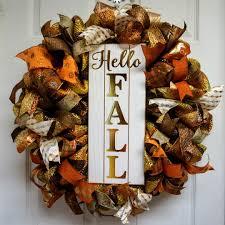 easy thanksgiving wreaths fall wreath autumn wreath fall deco mesh fall door hanger