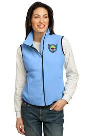 Light Blue Vest Port U0026 Company R Tek Fleece Vest