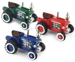 tracteur en bois véhicules de campagne boutique fou du volant