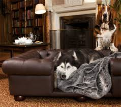 Leather Sofa Beds Uk Sale Balmoral Chocolate Brown Faux Leather Dog Sofa Bed