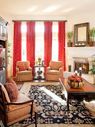 red curtains houzz